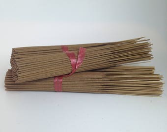 Unsceted 100pcs Incense Stick / Do it yourself / Soak in Oil