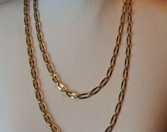 """Monet necklace. 45"""" single chain"""