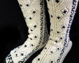 Vintage Pure wool socks from Black Sea - Turkey