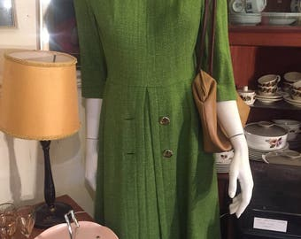 SOLD! Genuine Vintage Dress by Sidgreene of London, approx Size 10