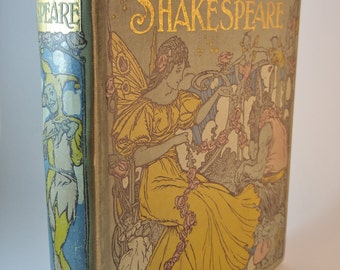 The Gateway to Shakespeare For Children - c.1910's - Antique book - Nelson