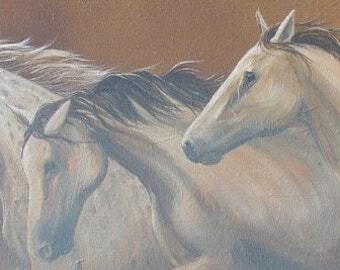 Hand Signed Three Spirits Canvas Prints