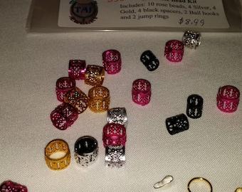 TAJ Rose bead set