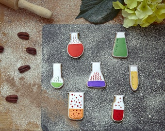 Chemistry Flasks Cookie Cutters