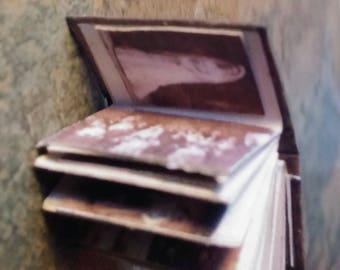 DollHouse,Miniature Wedding Photograph Album, Handmade Book, Dolls House,Dolls Accessories,Miniatures,Dolls Furniture,Papercraft Photo Album