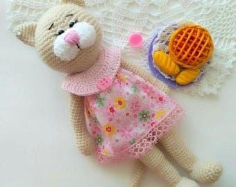 Pattern Crochet Kitti Cat