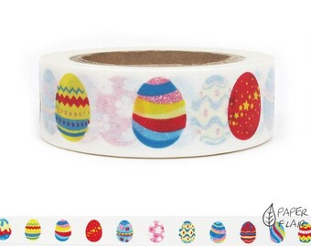 Washi tape Easter eggs (A-239)