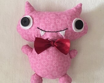 "handcrafted stuffed doll ""shingo"" 
