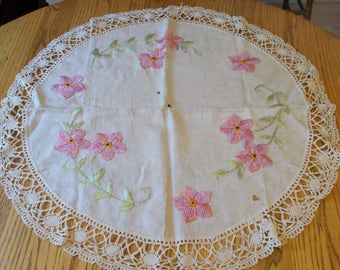 small round tablecloth