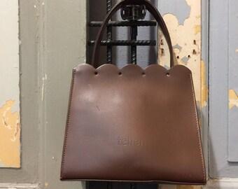 Vintage 90s Tehen Lace Cut Tote Bag, Women's Handbag