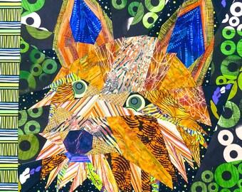 Yorkie Dog Quilt Pattern