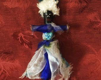 Voodoo Doll Authentic Elegant Vodou New Orleans Altar Doll Love Sacred