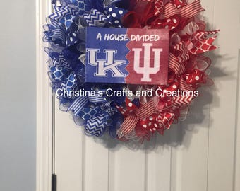 House divided wreath