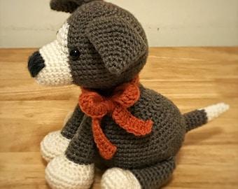 Crocheted Puppy - Amigurumi - Stuffed Animal - Toy - Plush Animal