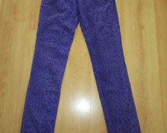 Just CAVALLI purple size 40 pants to-81%