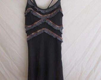 Dress Save the Queen size 36 grey at-61%