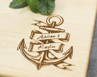 Personalized Cutting Board - Engraved Cutting Board, Custom Cutting Board, Wedding Gift, Housewarming Gift, Anniversary Gift, Engagement #13