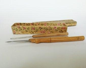 Vintage Rug Tools, Antique Latch Hooks