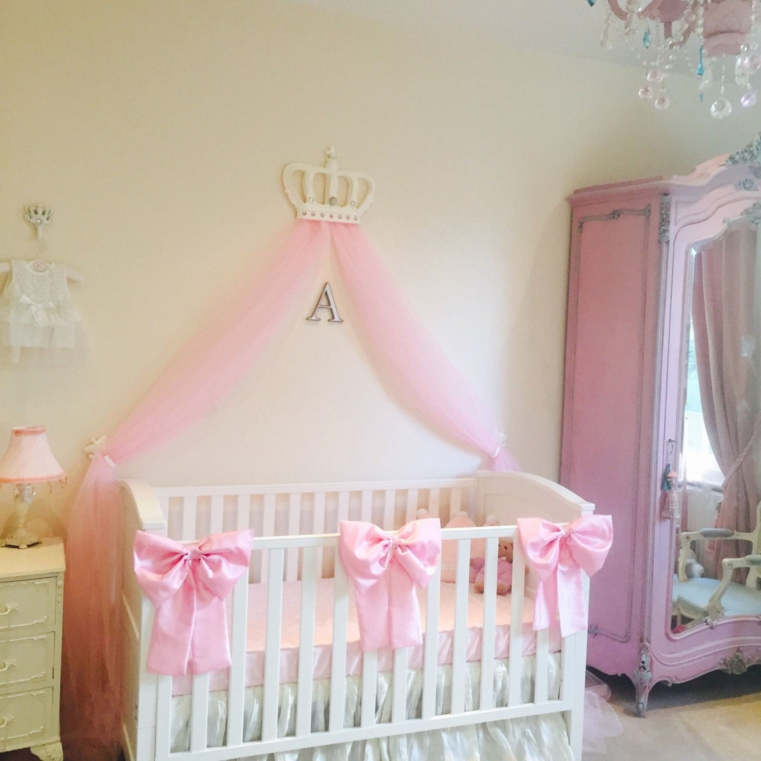 Silk Baby Girl Bedding