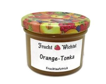 Orange-tonka fruit spread / jam