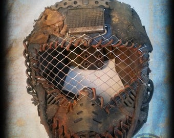 Full face post apocalyptic mask - mad max fury road