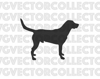 Labrador Dog, SVG EPS Png DFX, Clip Art, Instant Digital Download