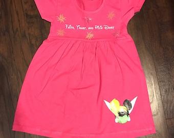 Tinkerbell Girls Dress