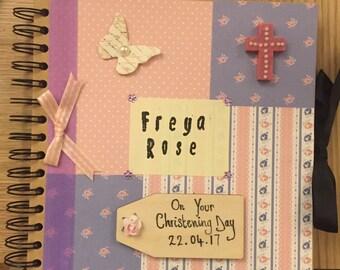 Baby photo album/ scrap book