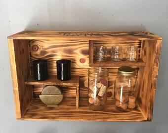 wine box nook