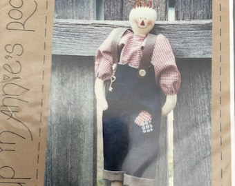Cloth Doll Pattern. Our Andy.