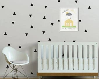 30% OFF You Are My Sunshine, On A Cloudy Day Little, Baby Decor, Nursery Wall Art, Baby Nursery Art, Gender Neutral