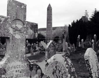 Ancient Irish Grave Yard, Glendalough, Co. Wicklow. Ireland