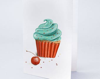 Sprinkled Cupcake by Truly Yours Greetings