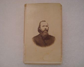 Civil War Chaplain CDV of Thomas L Ambrose 12th New Hampshire Infantry - Gettysburg - Wounded at Petersburg and Died