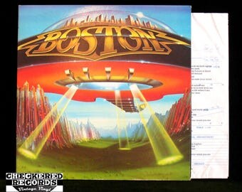 Boston Don't Look Back VG+ Vintage Vinyl LP Record Album