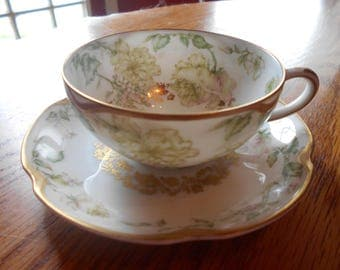 haviland cup and saucer