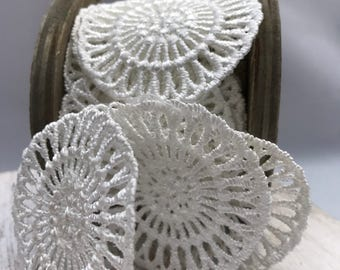 Lace, Medallion Lace, Spool Lace