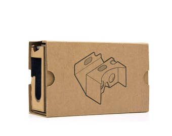 Google Cardboard VERSION 2 Virtual Reality 3D Glasses - Max Fit 6.0""