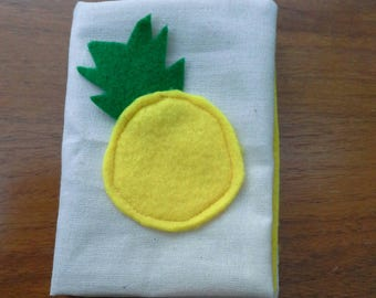 Pineapple Felt pin book