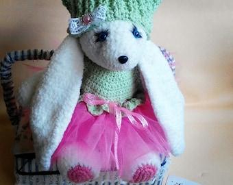 rabbit crochet  toy easter rabbit hare