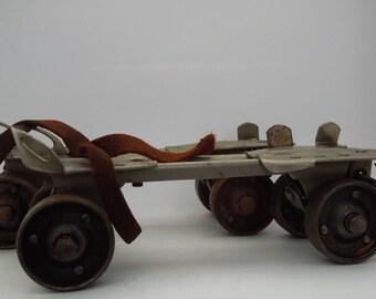 Rollerskates Vintage Metal