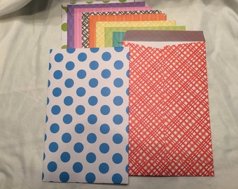 Large Fun and Bright Envelopes