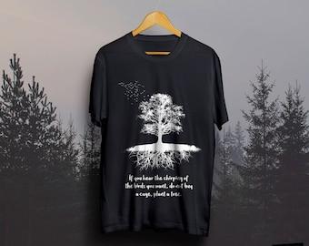 T-Shirt ''Birds Free''
