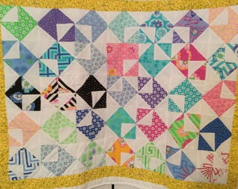 Love Letters Baby Quilt