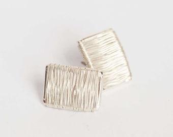 Llapu silver earrings