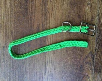 Neon Green, Large Dog Collar