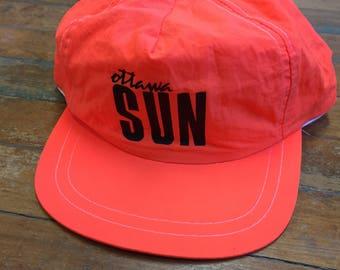 Ottawa Sun Reflector Orange Hat