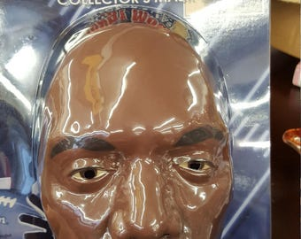 Official Randy Moss collectors mask with wig