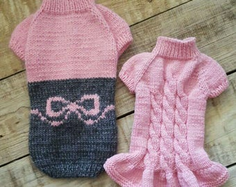 Sweater HAPPY DUO Bespoke HandKnitted Custom Made Especially for You