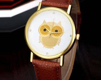 Womens Owl Watch